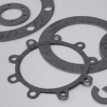 PTFE gasket sheet / flange / for chemical applications
