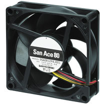 Electronic fan / axial / cooling / high-pressure