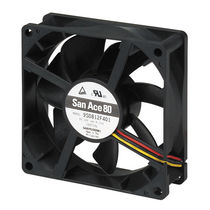 Axial fan / cooling / DC / low-noise