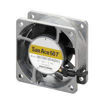 Axial fan / locking / DC / wide temperature range