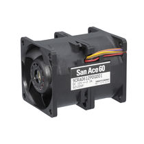 Axial fan / ventilation / rotary operated / DC