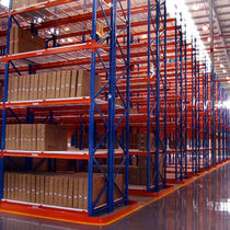 Storage warehouse racking