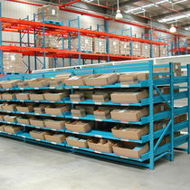 Storage warehouse shelving / for medium loads / box / dynamic