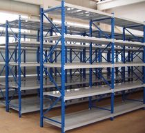 Storage warehouse shelving / for long items / medium-duty