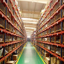Pallet shelving / storage warehouse / for heavy loads / adjustable