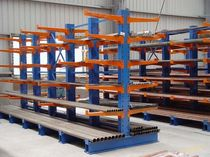 Cantilever shelving / for heavy loads / for long items / medium-duty