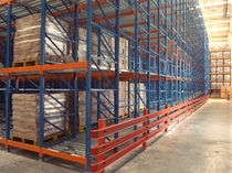Flow storage shelving / pallet / light-weight