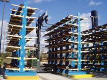 Cantilever shelving / for long items / medium-duty