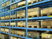 Pallet shelving / for heavy loads / adjustable