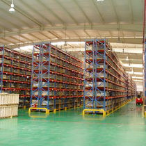 Pallet shelving / storage warehouse / for heavy loads / high-rise