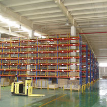 Pallet rack system / for heavy loads