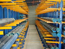 Storage warehouse shelving / cantilever / for long items / medium-duty