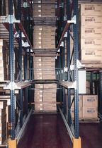 Storage warehouse shelving / for heavy loads / box / drive-through pallet