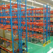 Pallet shelving / storage warehouse / for heavy loads / for empty and full cartons