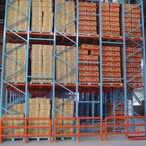 Pallet shelving / for heavy loads / box