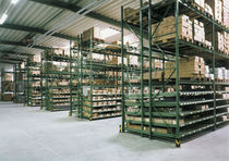 Storage warehouse shelving / dynamic