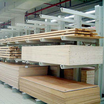 Cantilever shelving / for long items / medium-duty / steel