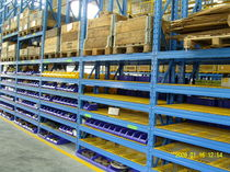Pallet rack system / storage warehouse / for heavy loads / high-rise