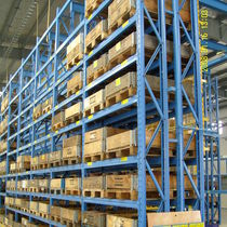 Pallet rack system / for heavy loads / adjustable