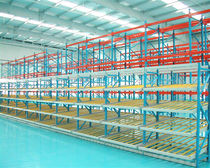 Storage warehouse shelving / dynamic / steel