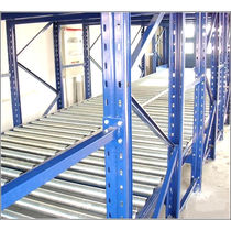 Storage warehouse shelving / for medium loads / lightweight / dynamic