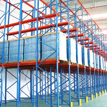 Pallet shelving / storage warehouse / for heavy loads