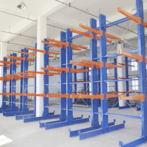 Cantilever shelving / merchant / for heavy loads / for long items