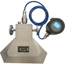 Mass flow meter / Coriolis / for liquids / with mass flow controller