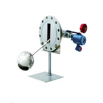 Float level transmitter / for liquids / for tanks