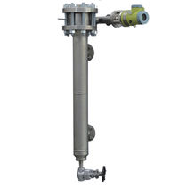 Displacer level transmitter / for liquids / for storage tanks / HART
