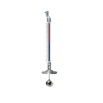 Magnetic float level transmitter / for liquids / for tanks