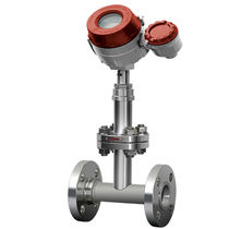 Baffle plate flow meter / for liquids / for gas / for steam