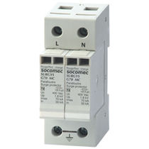 Type 2 surge arrester / three-phase / single-phase / DIN rail