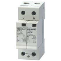 Type 2 surge arrester / DIN rail / low-voltage