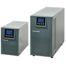 On-line UPS / industrial / power distribution / with LCD display