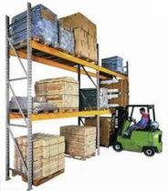 Pallet shelving / order picking / adjustable