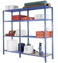Light-duty shelving / medium-duty / adjustable