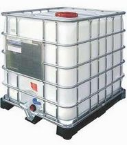 IBC container / metal / for bulk materials