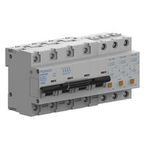 Type 2 surge arrester / three-phase / DIN rail