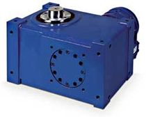 Oscillating indexer / globoidal cam / right-angle / for machines