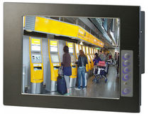 LCD monitor / touch screen / embedded / 800 x 600