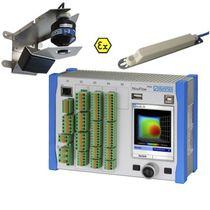 Ultrasonic flow meter / radar / for wastewater / 4-20 mA