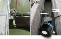 Ultrasonic level sensor / for liquids / bulk solids / for tanks