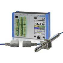 Ultrasonic transit-time flow transmitter / gas / for liquids