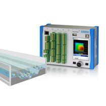 Ultrasonic flow transmitter / for liquids
