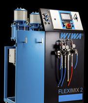 High-viscosity media dispensing system / volumetric / multi-component