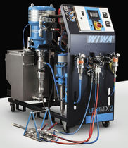 Two-component paint spray unit / pneumatic