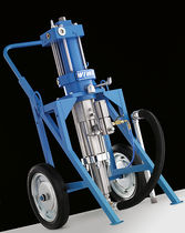 Paint spray unit / pneumatic / hydraulic