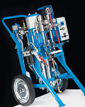 Two-component paint spray unit / airless