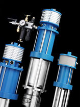 Paint pump / electric / piston / for spraying